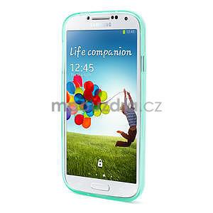 Gélové slim puzdro na Samsung Galaxy S4 i9500- zelené - 3