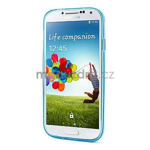 Gélové slim puzdro na Samsung Galaxy S4 i9500- modré - 3