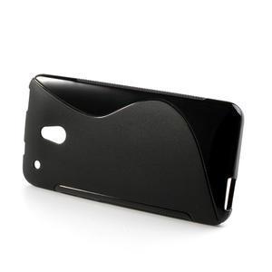 Gélové S-line puzdro pre HTC one Mini M4- čierné - 3
