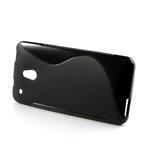 Gélové S-line puzdro pre HTC one Mini M4- čierné - 3/4