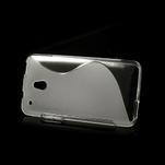 Gélové S-line puzdro pre HTC one Mini M4- transparentný - 3/5