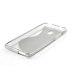Gélové S-line puzdro pre HTC one Mini M4- šedé - 3