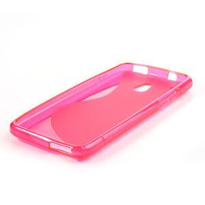 Gélové S-line puzdro pre HTC one Mini M4- růžové - 3