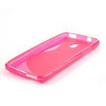 Gélové S-line puzdro pre HTC one Mini M4- růžové - 3/3