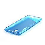 Gélové S-line puzdro pre HTC one Mini M4- modré - 3/4