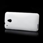 Gélové X-line puzdro pre HTC one Mini M4- biele - 3/4