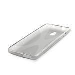 Gélové X-line puzdro pre HTC one Mini M4- šedé - 3/4