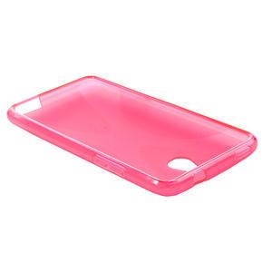 Gélové X-line puzdro pre HTC one Mini M4- ružové - 3