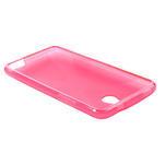 Gélové X-line puzdro pre HTC one Mini M4- ružové - 3/4