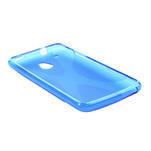 Gélové X-line puzdro pre HTC one Mini M4- modré - 3/4