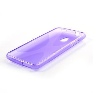 Gélové X-line puzdro pre HTC one Mini M4- fialové - 3