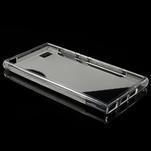 Gélové S-line puzdro pre Xiaomi Mi3- transparentný - 3/5