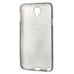 Gélové kartáčované puzdro pre Samsung Galaxy Note 3- čierné - 3/5