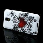 Gélové puzdro na Samsung Galaxy Note 3- horké srdce - 3/6