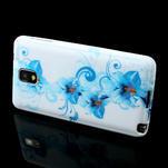 Gélové puzdro na Samsung Galaxy Note 3- modrá lilie - 3/6