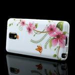 Gélové puzdro na Samsung Galaxy Note 3- červené květy - 3/6