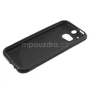 Gélové S-line puzdro pre HTC one M8- čierné - 3