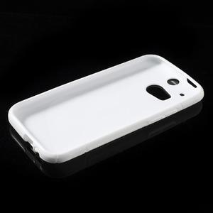 Gélové S-line puzdro pre HTC one M8- biele - 3