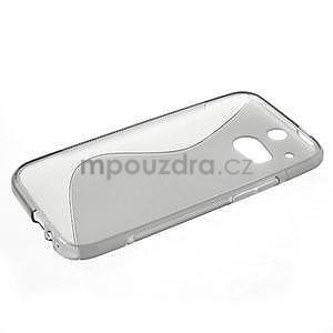 Gélové S-line puzdro pre HTC one M8- šedé - 3