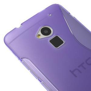 Gélové S-line puzdro na HTC One Max- fialové - 3