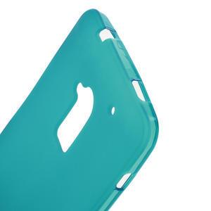 Gélové matné puzdro pre HTC one Max- svetlo modré - 3