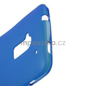 Gélové matné puzdro pre HTC one Max- modré - 3