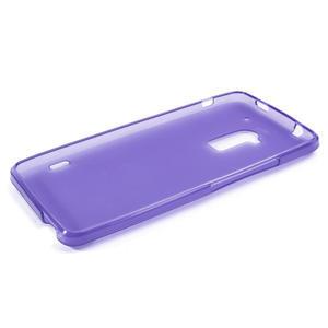 Gélové matné puzdro pre HTC one Max- fialové - 3