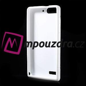 Gélové S-line puzdro na Huawei Ascend G6 - biele - 3
