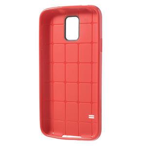 Gélové puzdro pre Samsung Galaxy S5- červené - 3