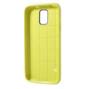 Gélové puzdro pre Samsung Galaxy S5- žlté - 3