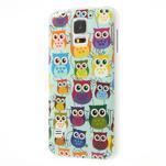 Gélové puzdro pre Samsung Galaxy S5 sovy - 3/3