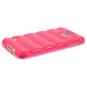 Gelové vesta pouzdro na Samsung Galaxy S5- růžové - 3