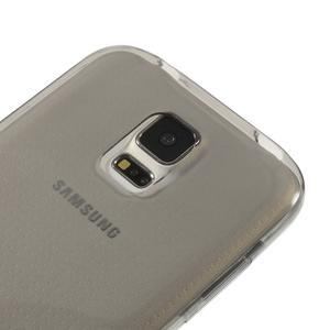 Gelové ultraslim pouzdro na Samsung Galaxy S5- šedé - 3