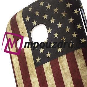 Gélové puzdro na Samsung Galaxy Young S6310- USA vlajka - 3