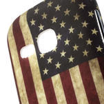 Gélové puzdro na Samsung Galaxy Young S6310- USA vlajka - 3/5