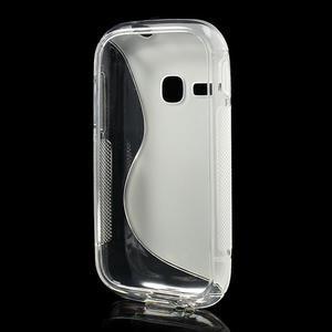 Gélové S-line puzdro na Samsung Galaxy Young S6310- transparentný - 3