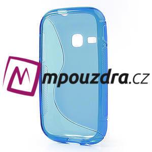 Gélové S-line puzdro na Samsung Galaxy Young S6310- modré - 3