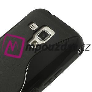 Gélové S-line puzdro pre Samsung Trend plus, S duos- čierné - 3