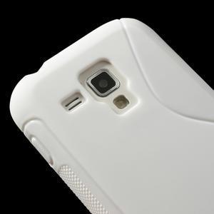 Gélové S-line puzdro pre Samsung Trend plus, S duos- biele - 3