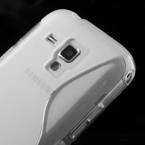 Gélové S-line puzdro pre Samsung Trend plus, S duos- transparentný - 3