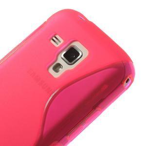 Gélové S-line puzdro pre Samsung Trend plus, S duos- růžové - 3