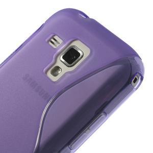Gélové S-line puzdro pre Samsung Trend plus, S duos- fialové - 3