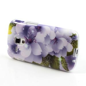 Gélové puzdro na Samsung Galaxy Trend, Duos- elegantný květ - 3