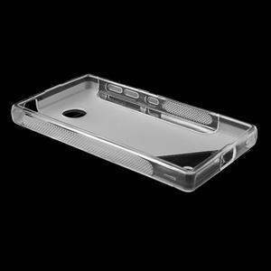 Gélové S-line puzdro na Nokia X dual- transparentný - 3