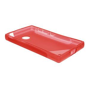 Gélové S-line puzdro na Nokia X dual- červené - 3