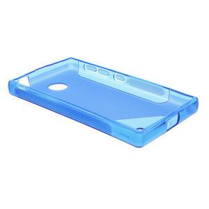 Gélové S-line puzdro na Nokia X dual- modré - 3