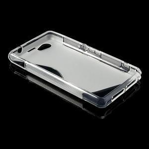 Gélové S-line puzdro na Sony Xperia Z1 Compact D5503- transparentný - 3