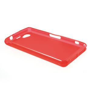 Gélové Ultraslim puzdro pre Sony Xperia Z1 Compact D5503- červené - 3