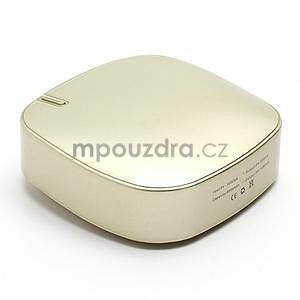 Štýlová externá nabíjačka power bank 6 000 mAh - zlatá - 3