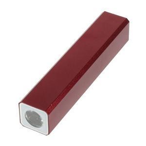 GTX kovová externí nabíjačka 2 600 mAh - červená - 3